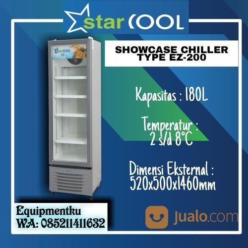 Starcool EZ-200 Showcase Cooler Chiller Kulkas Glass Door (180 Liter) (30627818) di Kota Jakarta Barat