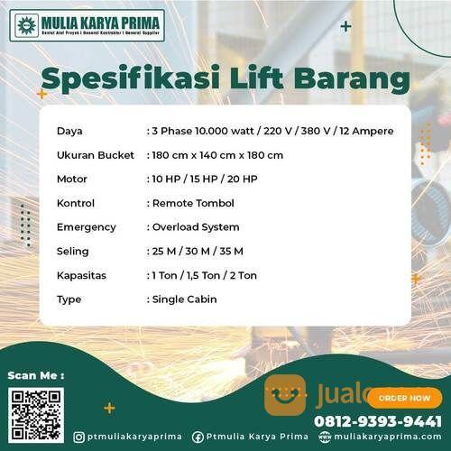 Sewa Lift Material 2 Ton Minahasa (30690250) di Kab. Minahasa