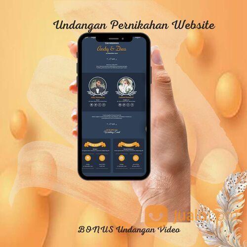 Undangan Pernikahan Website Gratis Video Murah (30711210) di Kota Bandung