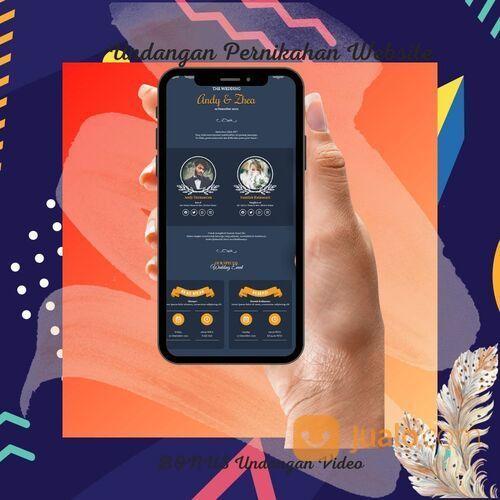 Undangan Pernikahan Mewah Website Gratis Video (30711594) di Kota Bandung