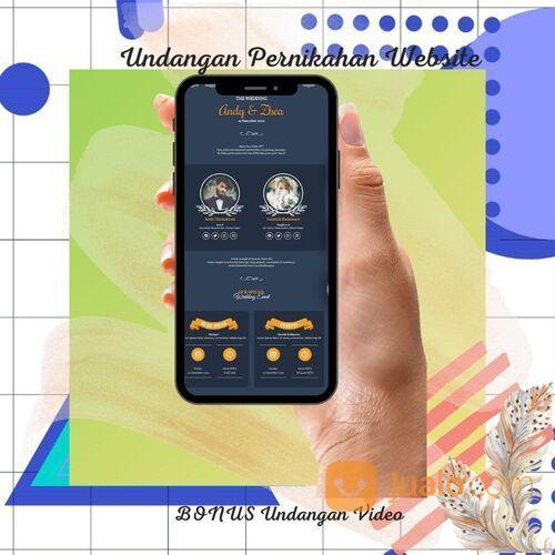 Undangan Pernikahan Unik Website Gratis Video (30711972) di Kota Bandung