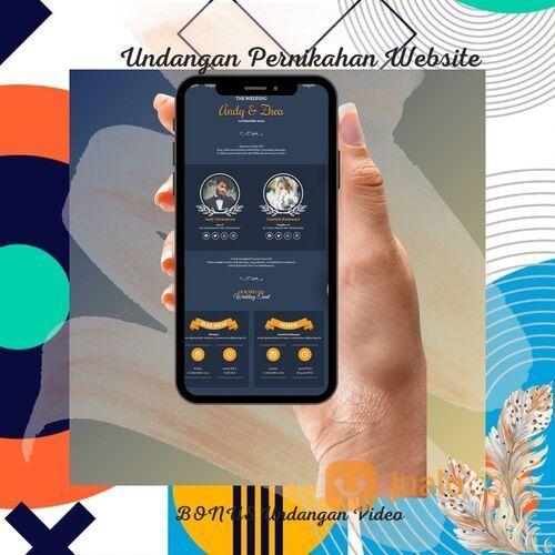 Undangan Pernikahan Digital Murah (30712116) di Kota Bandung