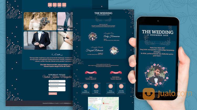 Undangan Pernikahan Website Gratis Video (30712174) di Kota Bandung