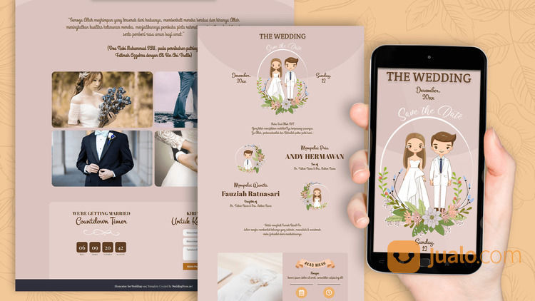 Undangan Video Pernikahan (30712288) di Kota Bandung
