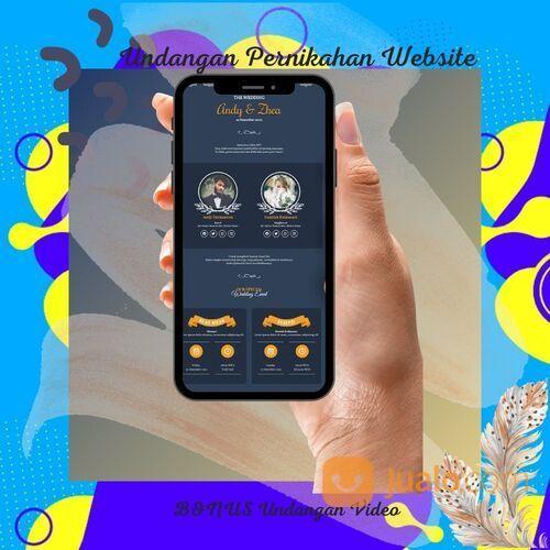 Undangan Pernikahan Unik & Murah Website Gratis Video (30712365) di Kota Bandung