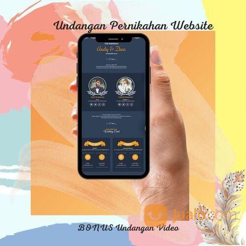 Undangan Pernikahan Digital Website Gratis Video (30712499) di Kota Bandung