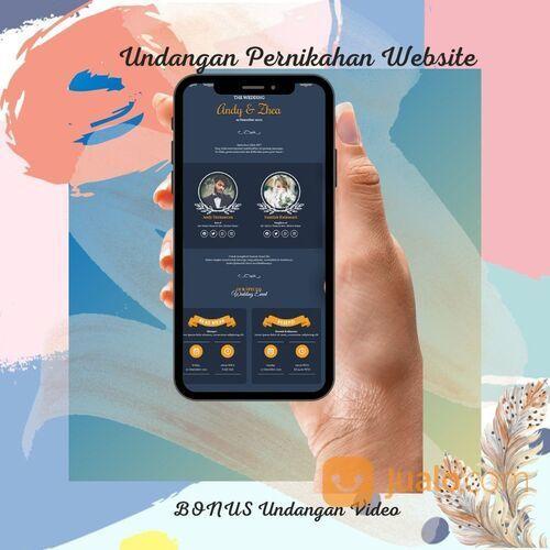 Undangan Pernikahan Digital Murah (30712505) di Kota Bandung