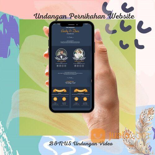 Undangan Pernikahan Unik & Murah Website Gratis Video (30712559) di Kota Bandung
