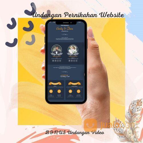 Undangan Pernikahan Unik Website Gratis Video (30712570) di Kota Bandung