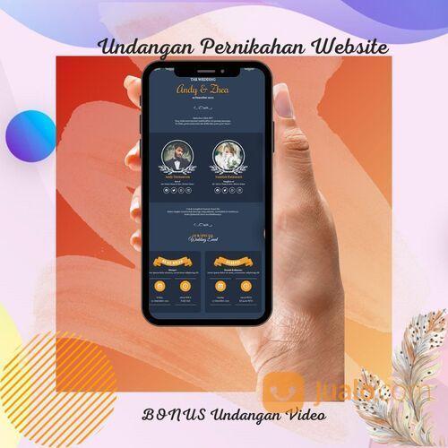 Undangan Pernikahan Website Gratis Video Murah (30712610) di Kota Bandung