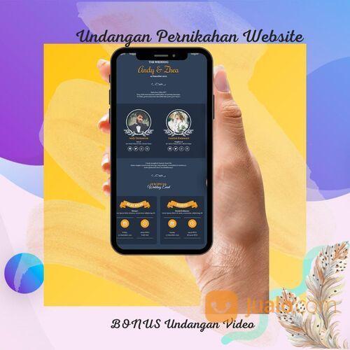 Undangan Pernikahan Unik & Murah Website Gratis Video (30712630) di Kota Bandung