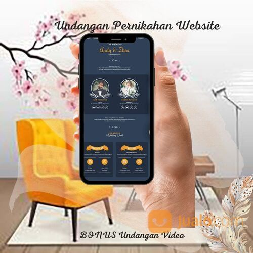 Undangan Pernikahan Website Gratis Video Murah (30712708) di Kota Bandung