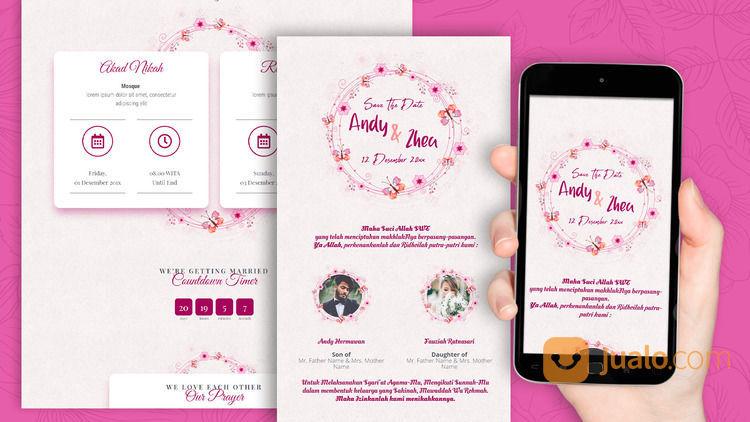 Undangan Pernikahan Unik Website Gratis Video (30712745) di Kota Bandung