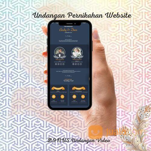 Undangan Pernikahan Digital Website Gratis Video (30712761) di Kota Bandung