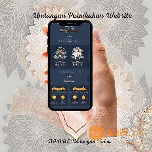 Undangan Pernikahan Website Gratis Video (30712801) di Kota Bandung