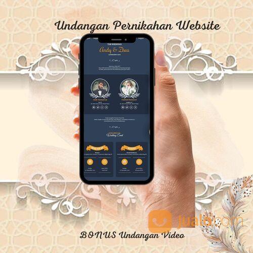 Undangan Pernikahan Mewah Website Gratis Video (30712830) di Kota Bandung