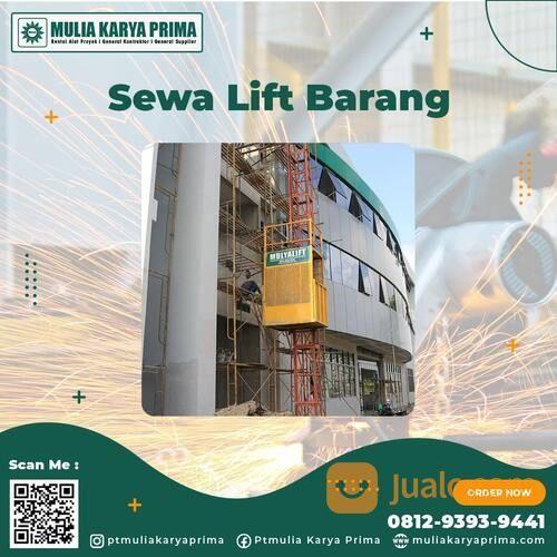 Sewa Lift Barang Salakan / Kab. Banggai Kepulauan / Lift Material / Alimak / Hoist (30719437) di Kab. Banggai Kep.