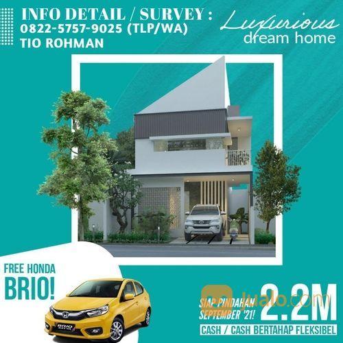 Rumah Baru Gress Termurah Dan Luas Lokasi Tengah Kota Surabaya Dekat Sekolah Al-Hikmah UNESA Ktntang (30761499) di Kota Surabaya