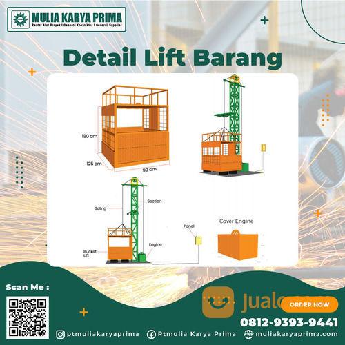 Sewa Lift Barang Kabupaten Banggai Kepulauan (30771848) di Kab. Banggai Kep.