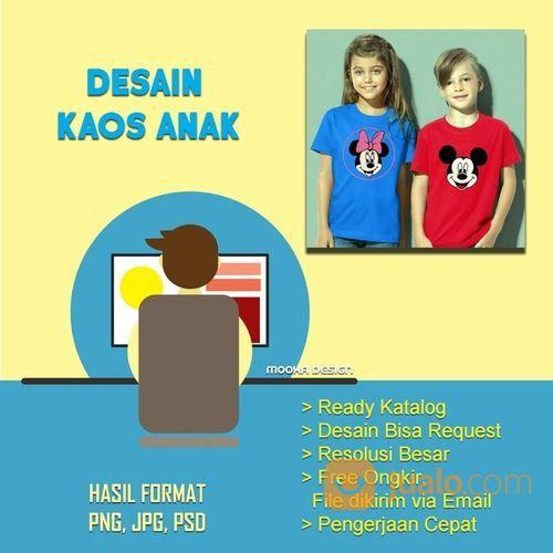 Desain Kaos Anak (30808315) di Kota Bandung