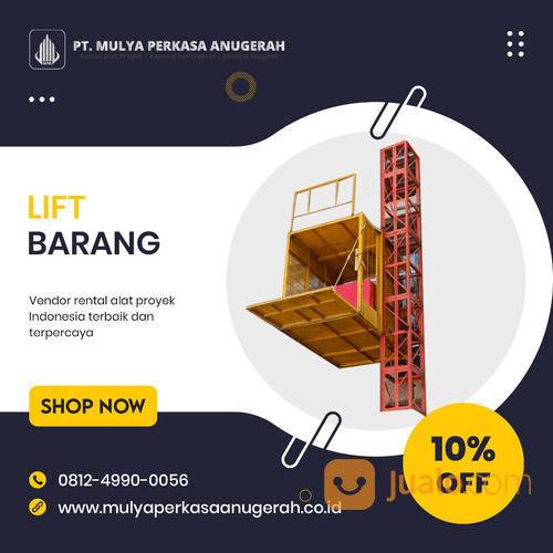 Rental / Sewa Lift Barang, Lift Material 1-4 Ton Lubuklinggau (30832475) di Kota Lubuk Linggau