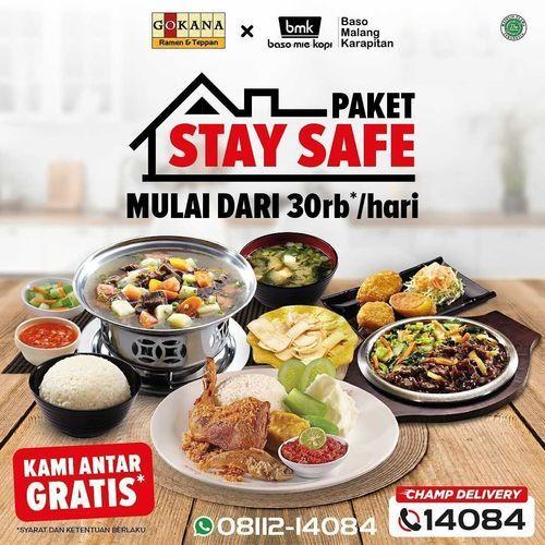 Gokana Ramen Teppan Paket STAY SAFE Mulai dari Rp. 30rb*/hari (30854187) di Kota Jakarta Selatan