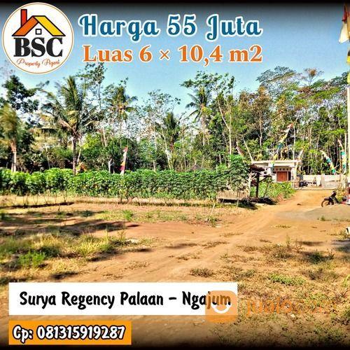 Kavling Termurah Luas 6 10,4 Kepanjen (30911125) di Kab. Malang