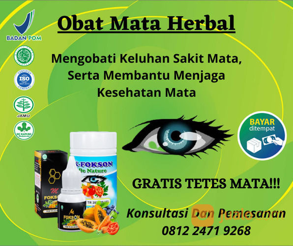 Agen Obat Mata Herbal Yang Di Racik Dari Tanaman Herbal (30913780) di Kab. Sekadau