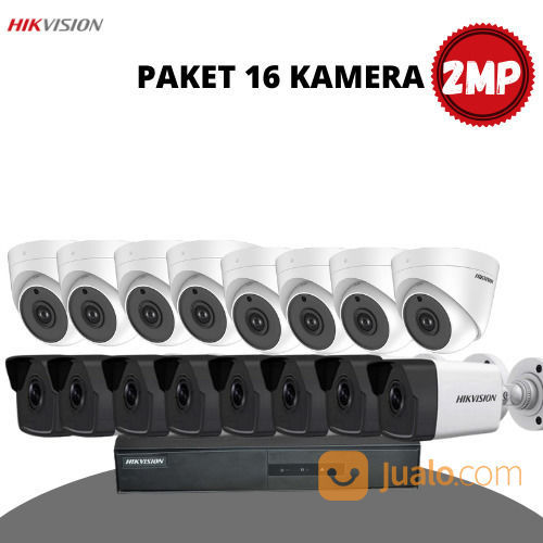 HIKVISION 2MP PAKET 16 KAMERA (30946398) di Kota Surabaya