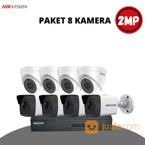 HIKVISION 2MP PAKET 8 KAMERA (30946426) di Kota Surabaya
