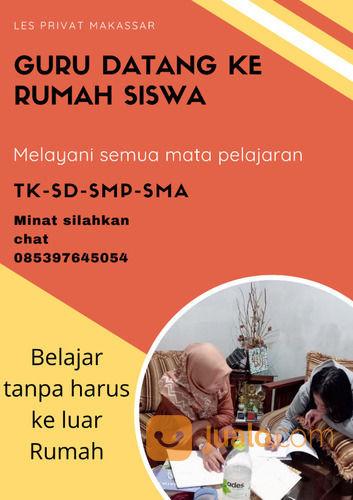 Jasa Les Privat Makassar SD-SMA (30958352) di Kota Makassar