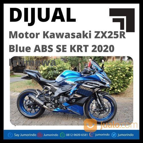 Murah Motor Kawasaki ZX25R Blue ABS SE KRT 2020 Istimewa (31068504) di Kab. Semarang