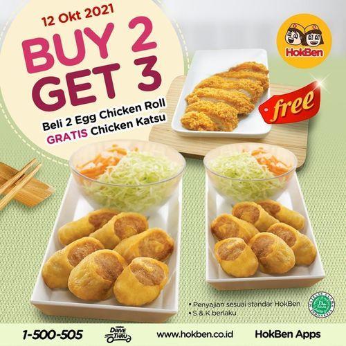 HokBen Buy 2 Get 3!!! (31135339) di Kota Jakarta Selatan