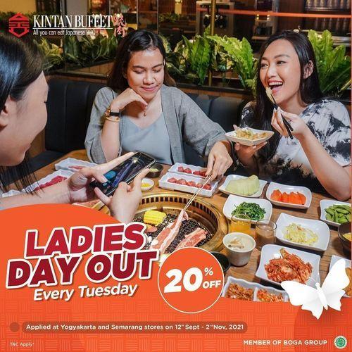 Kintan Buffet LADIES DAY OUT Every Tuesday 20 % Off (31135492) di Kota Yogyakarta