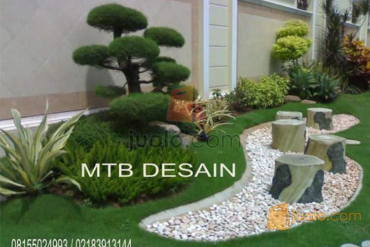 Desain Taman Jakarta, Desain Kolam Minimalis Koi Jakarta, Desain Tebing Jakarta | Jakarta | Jualo