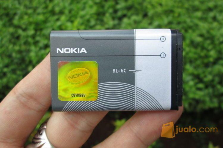 Baterai Nokia Original BL-6C Untuk QD 6275 6265 E50 1150mAh (3345891) di Kota Jakarta Pusat