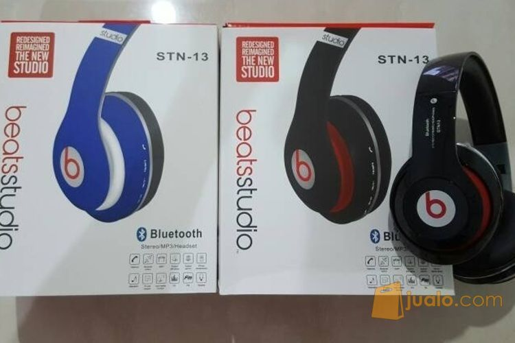 Headset Bluetooth Beats Stereo Port Micro SD dan Jack standar (3370667) di Kota Jakarta Pusat