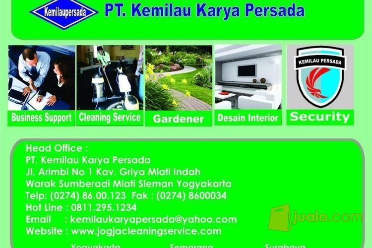Jasa Kebersihan Cleaning Service, Gardener & Security Yogyakarta - PT. Kemilau (3420049) di Kota Yogyakarta