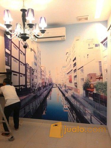 Jasa Pemasangan Wallpaper Printing&Roll (3505007) di Kota Jakarta Utara
