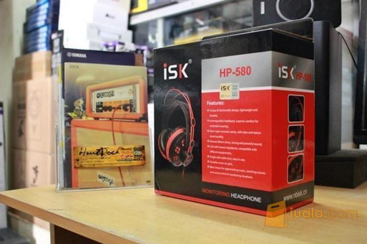 Headphone Monitoring ISK HP-580 Murah Di Bandung (3673299) di Kota Bandung