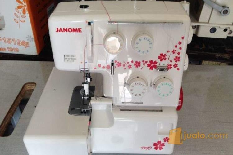 JANOME 2222 Mesin Jahit Multi FungsI Obras Janome 990d Janome 8002d (382161) di Kota Jakarta Barat