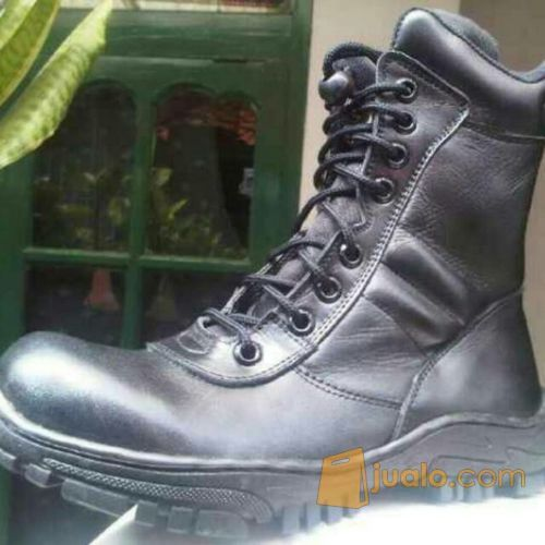 Sepatu pdl tni mantap mode gaya pria 4001529