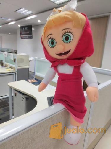 Boneka Si Marsha film serial kartun Marsha & The Bear grade super ORI SNI murmer (4046553) di Kota Jakarta Selatan