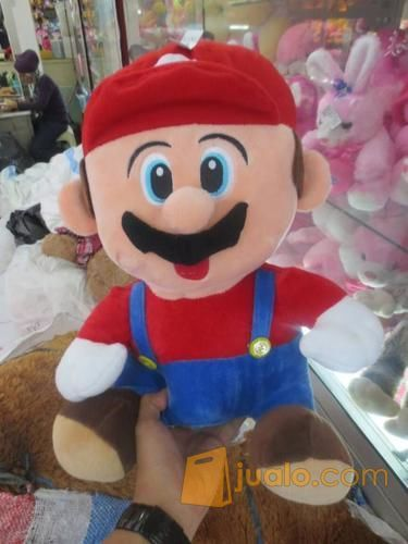 Boneka game & film kartun serial & bioskop Mario Bros grade super ORI SNI murmer ecer & grosiran (4046641) di Kota Jakarta Selatan