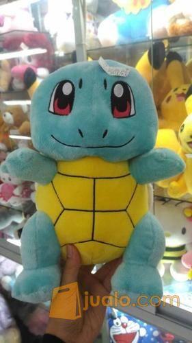 Boneka film Kartun & Game Pokemon Go Squirtle Grade Super Ori SNI oke murmer ecer & grosiran (4046837) di Kota Jakarta Selatan