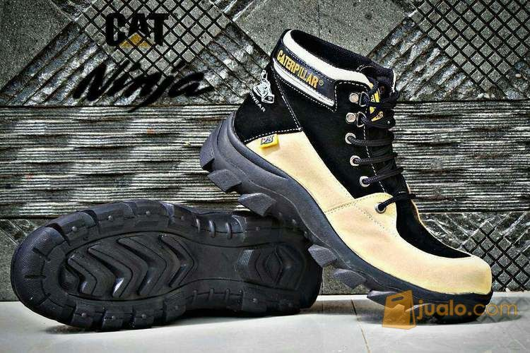 Sepatu safety boots c mode gaya pria 4144203