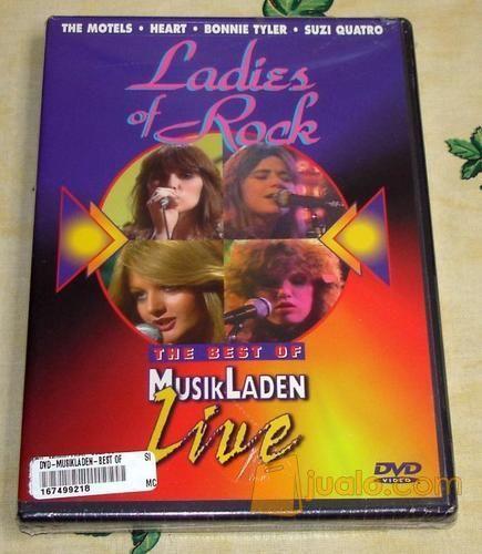 Ladies Of Rock The Best Of MusikLaden Live DVD (4203707) di Kota Jakarta Selatan