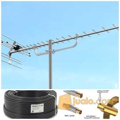 Paket antena tv yagi electronik ac exhaust 4245815
