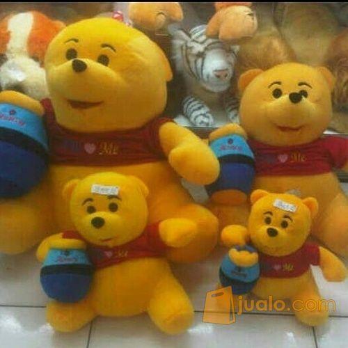 Boneka mainan anak krakter bruang madu tkoh kartun Winnie The Pooh SNI (4347721) di Kota Jakarta Selatan