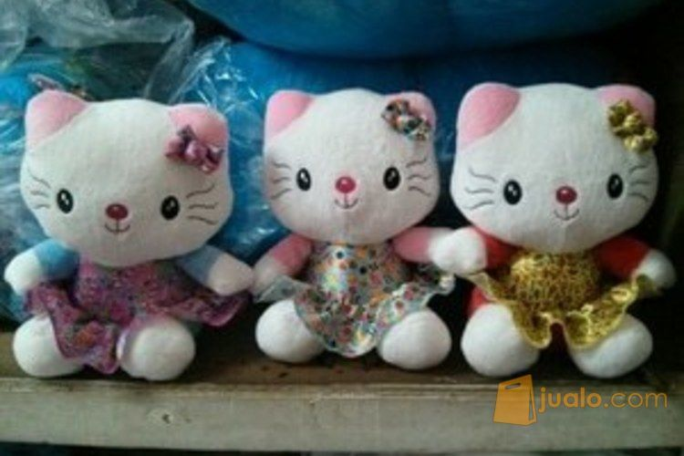 Boneka mainan anak kucing Cute kitty super Girl kartun Hello Kitty SNI (4347765) di Kota Jakarta Selatan